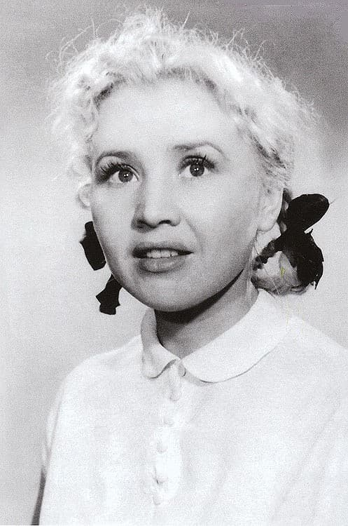 Екатерина Савинова в детстве