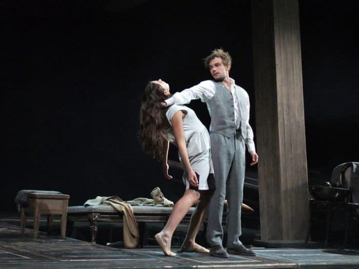 Александр Петров в театре