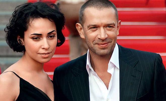 Владимир Машков и его жена Оксана Шелест