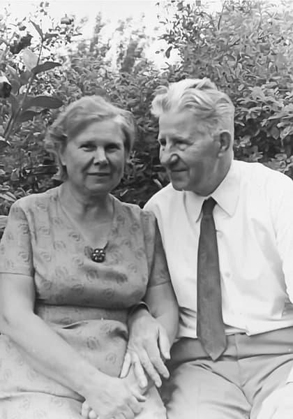 Михаил Кузнецов с женой