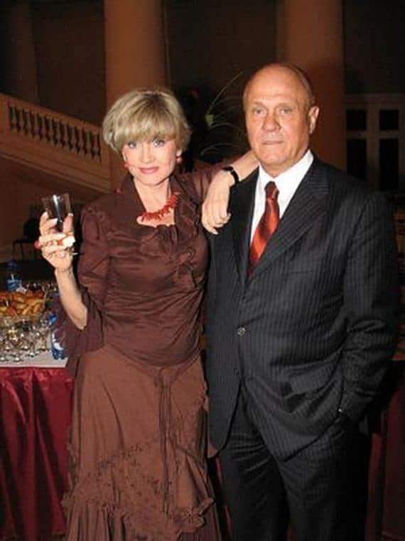 Вера Алентова и ее муж Владимир Меньшов