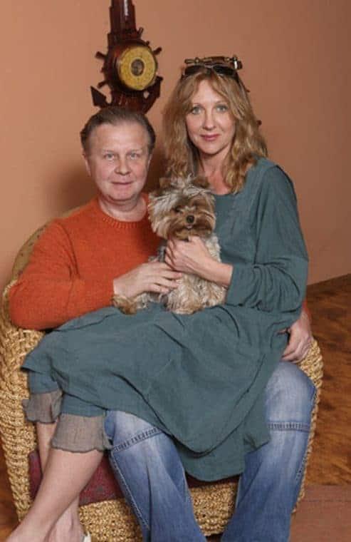 Елена Яковлева и ее муж Валерий шальных