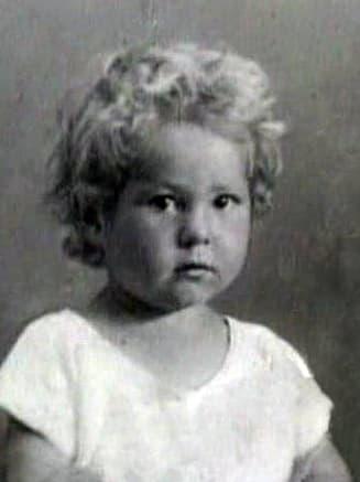 Борис Новиков в детстве