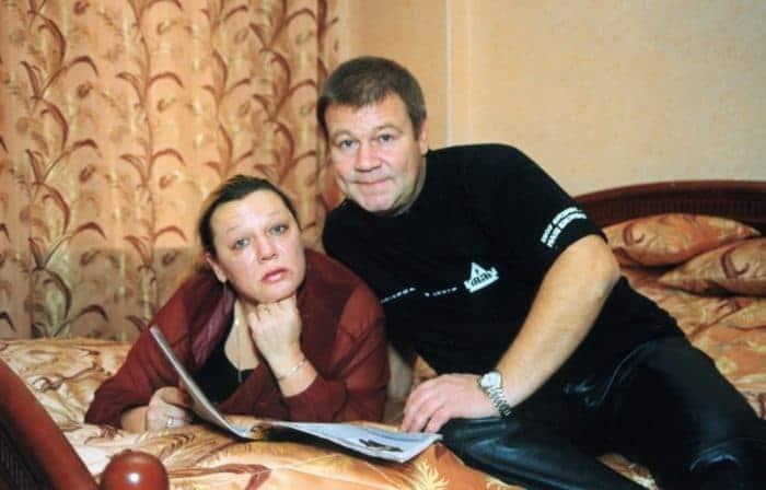 Сергей Селин с бывшей женой Ларисой