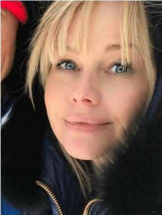 Елена Корикова без макияжа