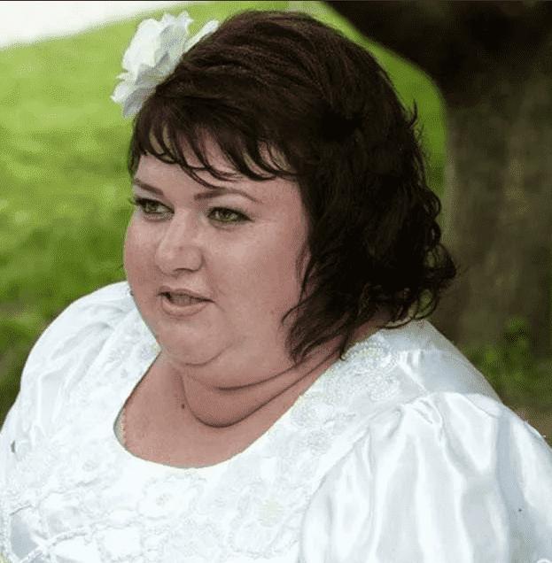 Ольга Картункова до похудания