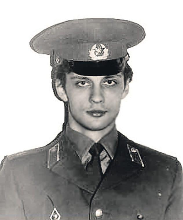 Михаил Пореченков в молодости
