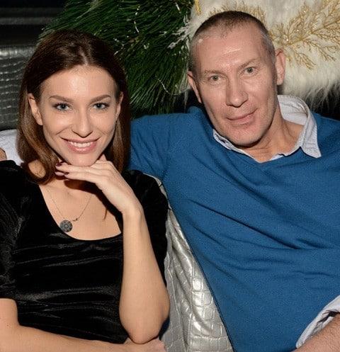 Игорь Жижикин с Олесей Ромашкиной