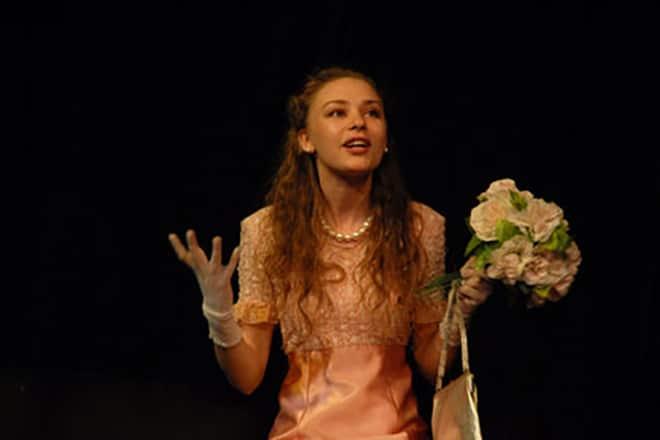 Ирина Таранник в театре