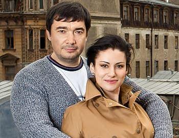 Анна Ковальчук с мужем Олегом Капустиным