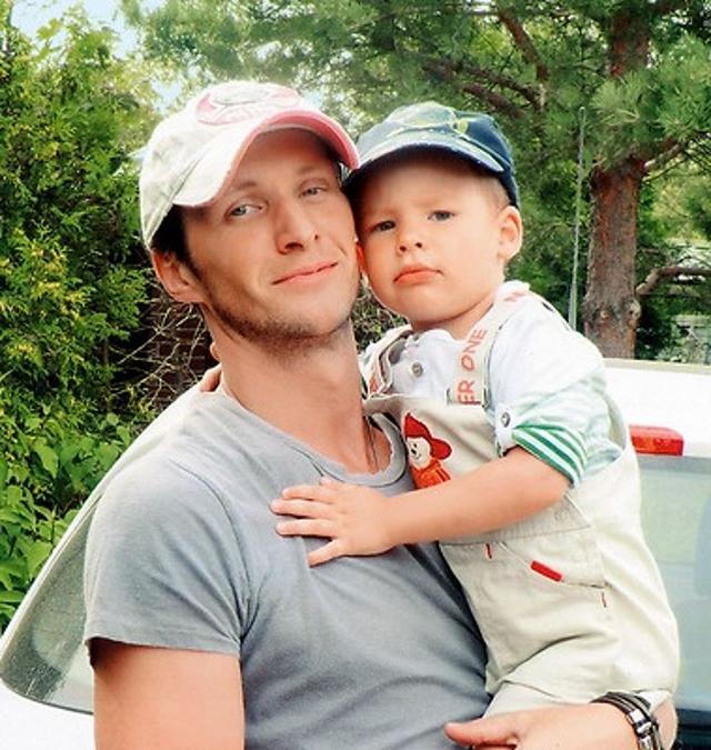 Иван Шибанов с сыном