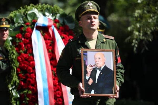 Похороны Станислава Говорухина