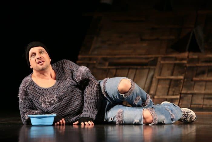 Дмитрий Нагиев на спектакле в театре