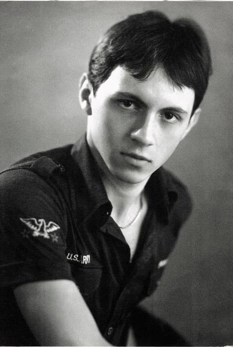 Павел Деревянко в юности
