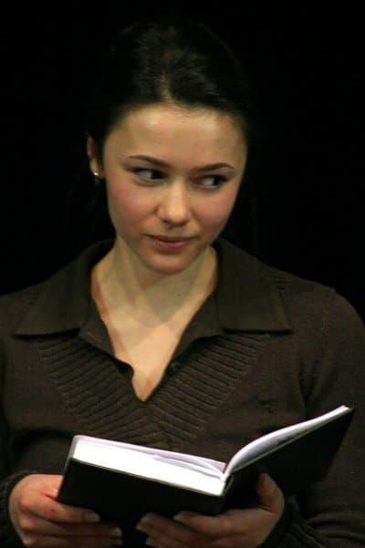 Ольга Гришина в юности