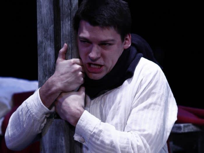 Даниил Страхов в театре