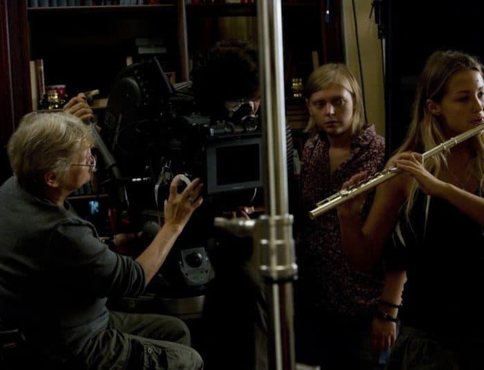 Съемки фильма «В стиле jazz»