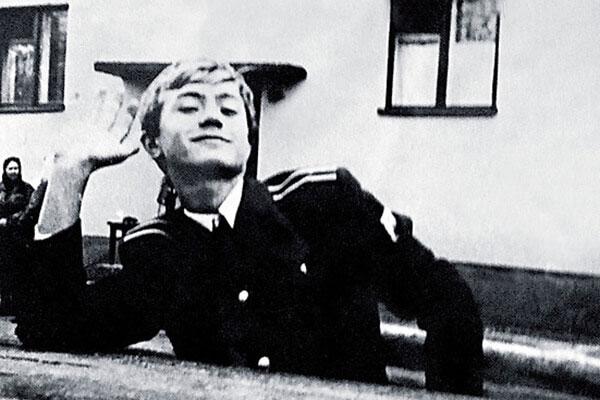Андрей Панин в юности