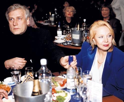 Борис Невзоров с Аллой Пановой