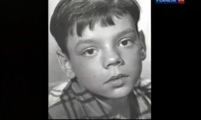 Константин Райкин в детстве