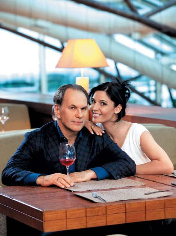 Лидия Вележева и ее муж Алексей Гуськов