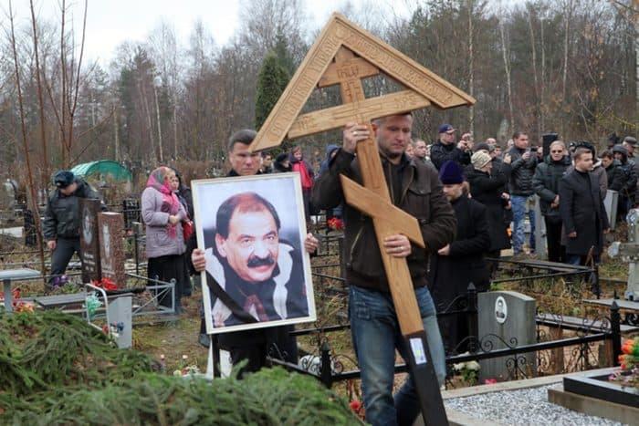 Похороны Ильи Олейникова