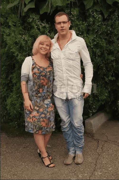 Иван Оганесян с женой