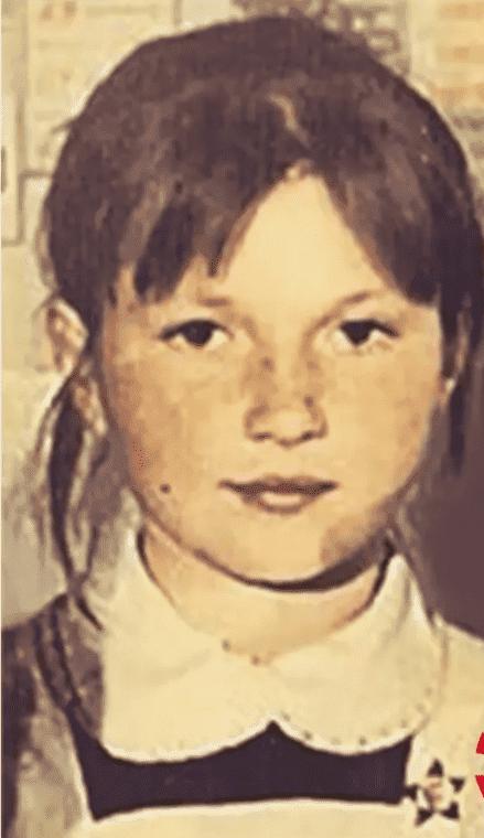 Ольга Картункова в детстве