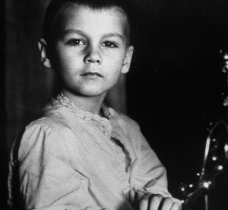 Филипп Янковский в детстве