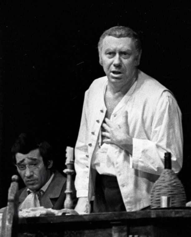 Анатолий Папанов в театре
