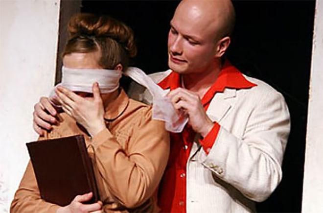 Никита Панфилов в театре