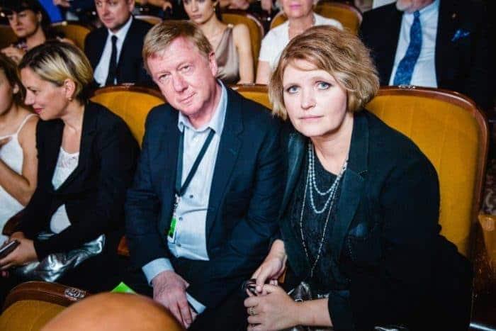 Авдотья Смирнова и ее муж Анатолий Чубайс