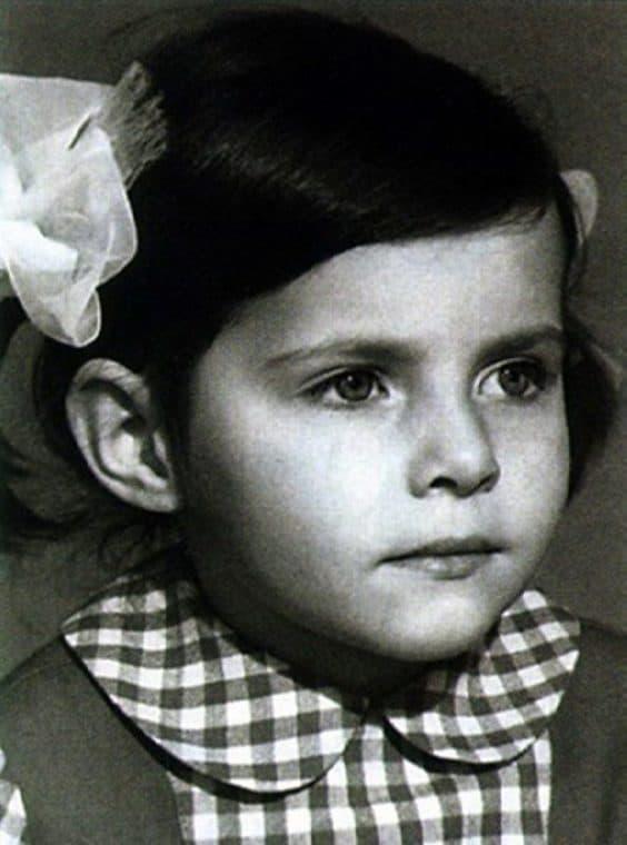 Екатерина Гусева в детстве
