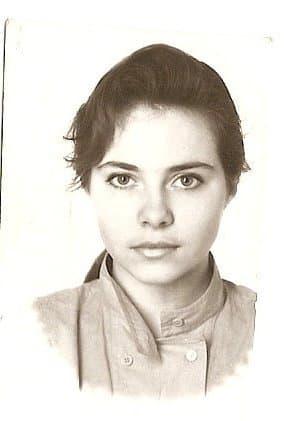 Екатерина Гусева в юности