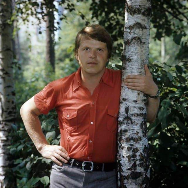 Михаил Кокшенов в молодости