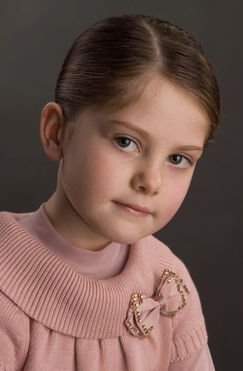 Анна Ковальчук в детстве