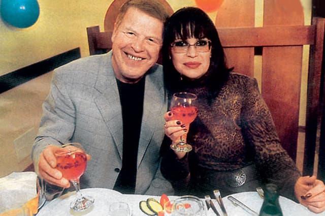 Михаил Кокшенов и ее вторая жена Елена Кокшенова