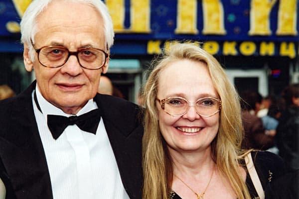 Владимир Наумов и его жена Наталья Белохвостикова