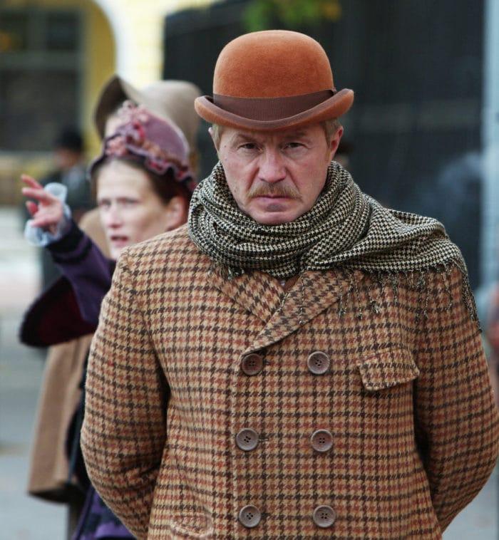Андрей Панин в сериале «Шерлок Холмс»