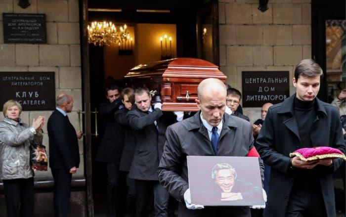 Похороны Романа Карцева