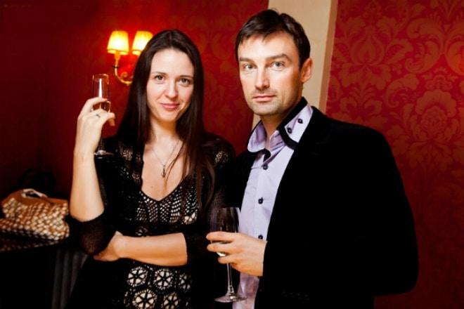 Александр Арсентьев и его жена Анна Гарнова