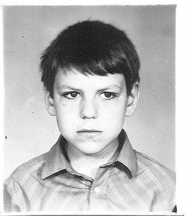 Дмитрий Дюжев в детстве