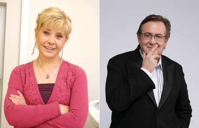 Юрий Стоянов и Татьяна Догилева