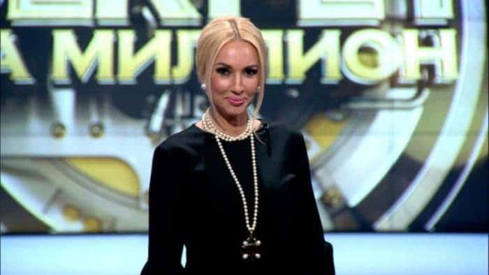 Лера Кудрявцева в передаче «Секрет на миллион»