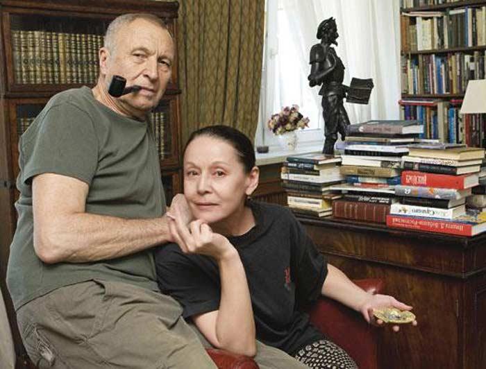 Андрей Смирнов с женой Еленой Прудниковой