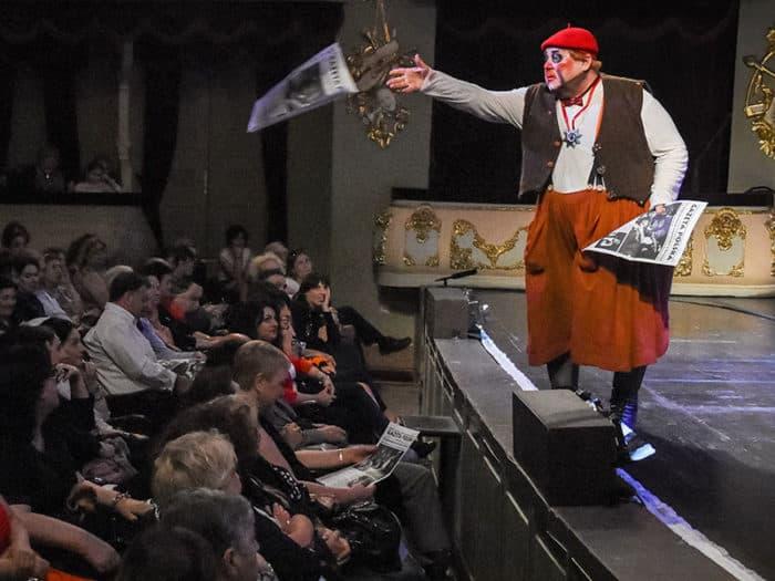 Александр Калягин на спектакле в театре