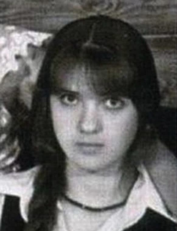 Ольга Дроздова в юности