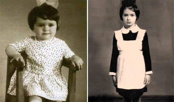 Ольга Дроздова в детстве