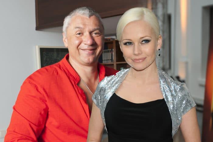 Елена Корикова с Дмитрием Липскеровым