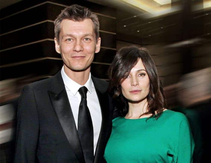 Филипп Янковский и его жена Оксана Фандера